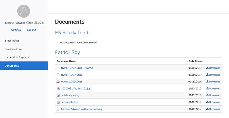 Documents Tab