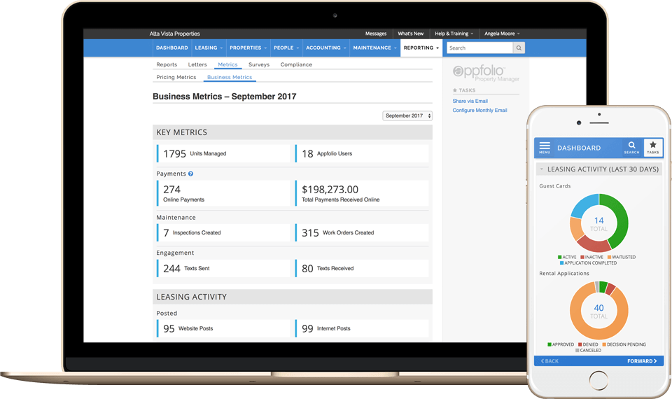 View AppFolio's reporting features