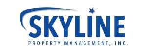 Logo for Skyline Property Management, Inc. (an AppFolio Property Management Software customer).
