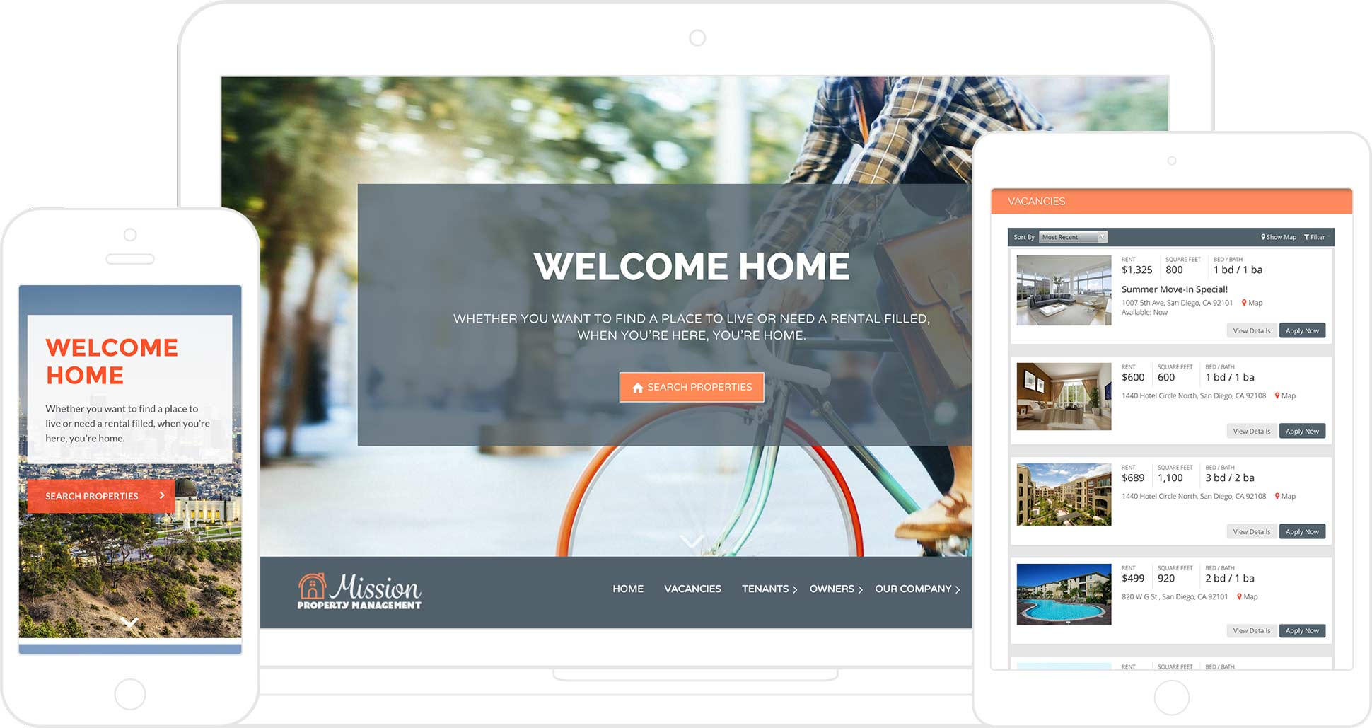AppFolio's Customized Property Management Websites