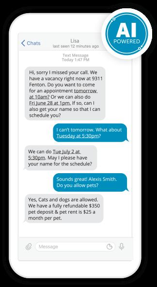 AppFolio's AI Leasing Assistant