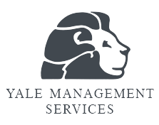 Yale Management Services logo.